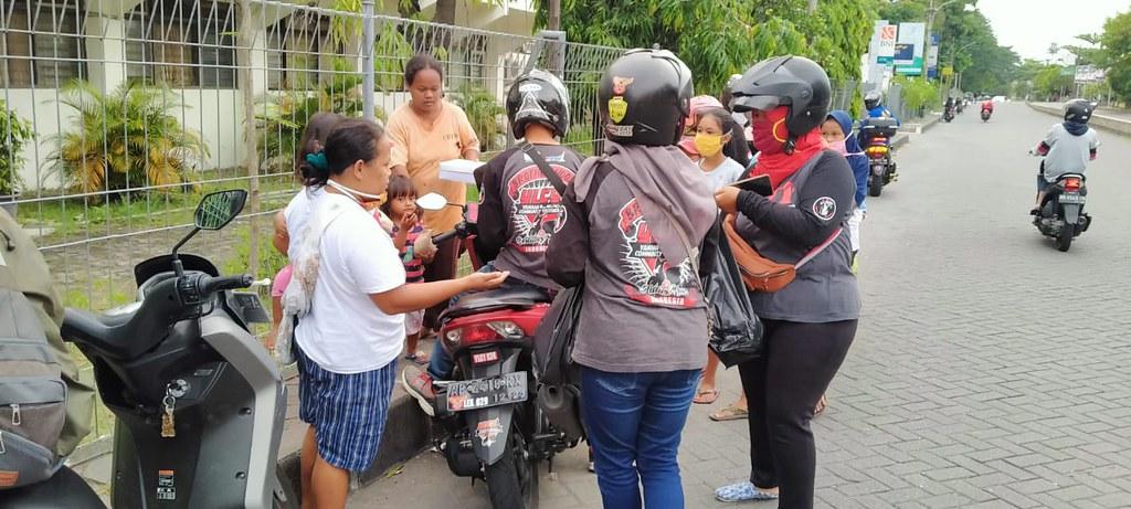 Yamaha Lexi Community Indonesia (YLCI) dalam aktivitas Ramadhan Berbagi Berkah (8)