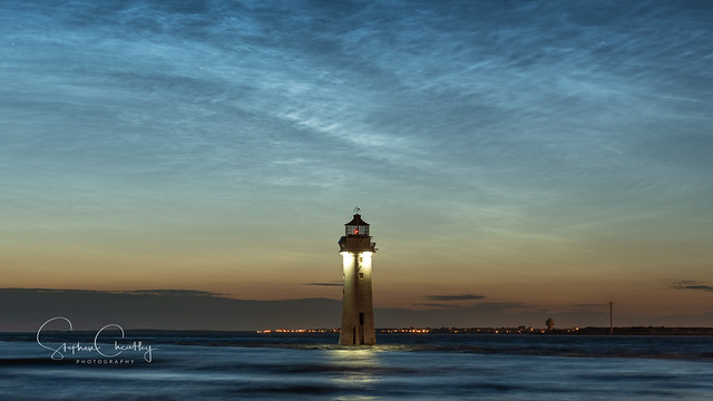 Perch Rock Noctilucent Clouds