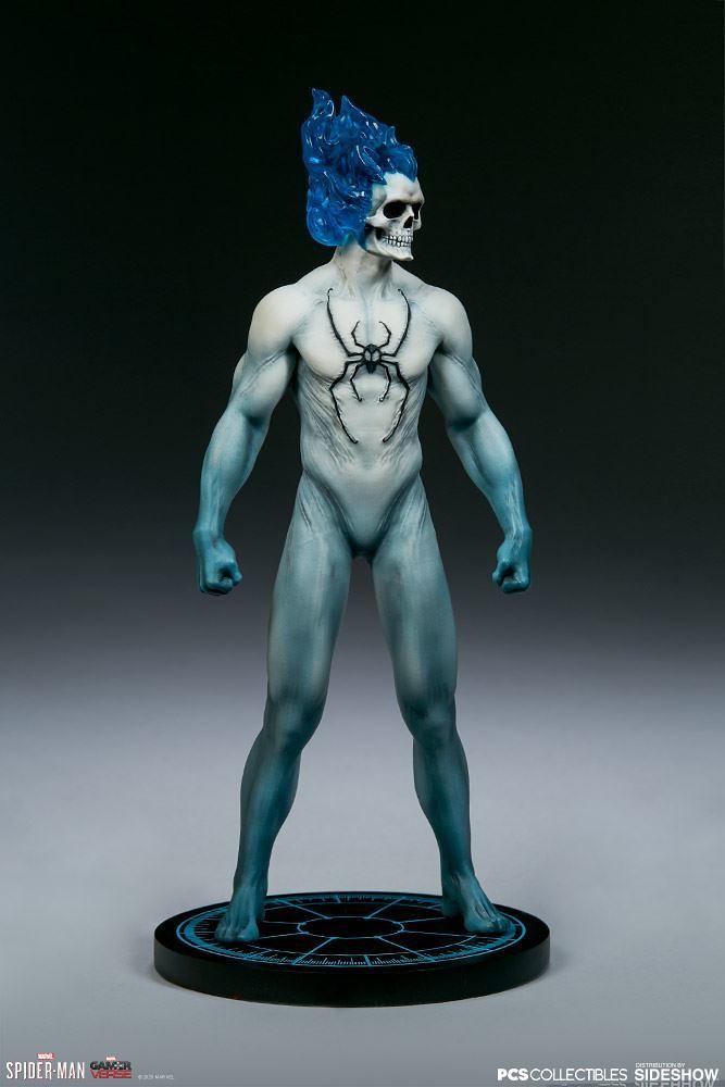 第二彈竟然是這款邪氣滿點的戰衣! PCS × Sideshow《漫威蜘蛛人》蜘蛛人 - 惡靈蜘蛛戰衣(Spider-Man - Spirit Spider Suit)1/10 比例全身雕像