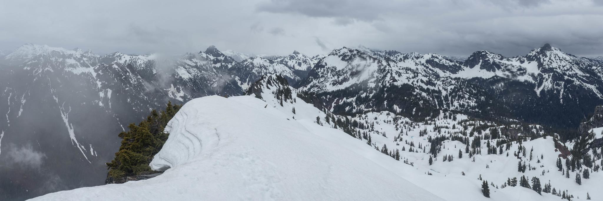Rampart Ridge northern panoramic view
