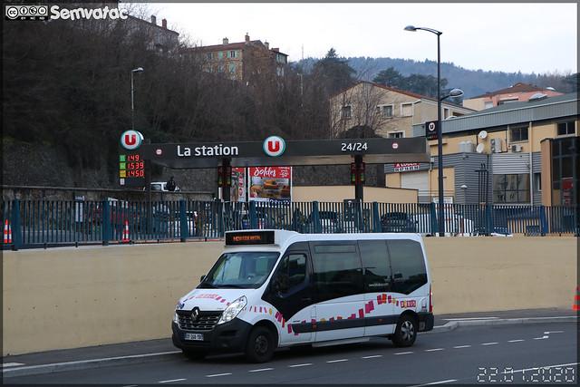 Durisotti Novibus (Renault Master) – STADE (Société des Transports d'Annonay, Davézieux et Extensions) (Transdev) / Babus n°7701