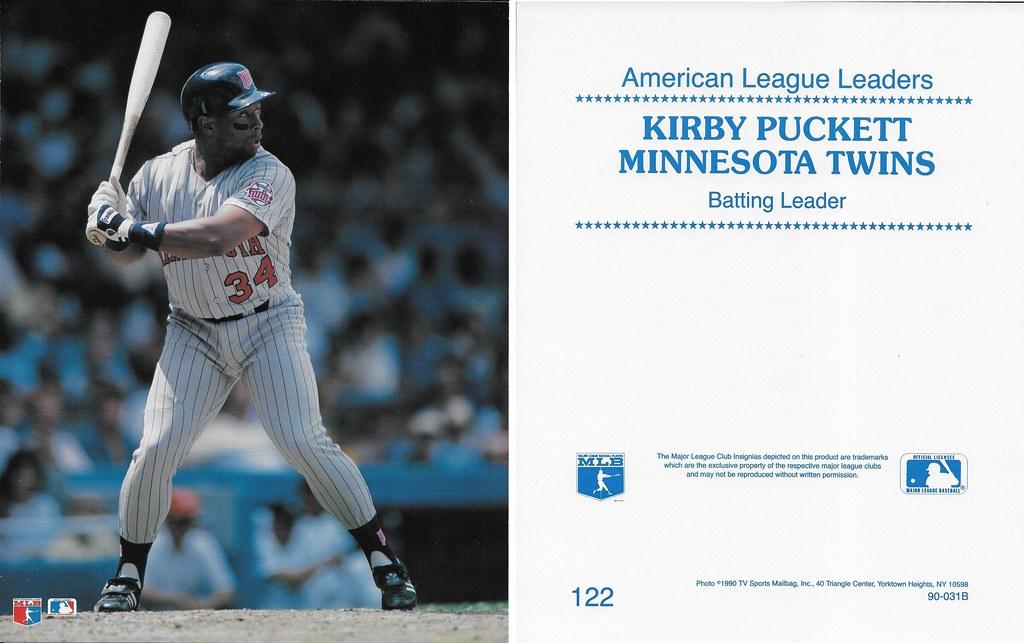 1990 TV Sports Mailbag - Puckett, Kirby 122