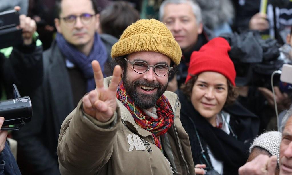 協助移民非法穿越邊境的法國農民葉胡。(圖片來源:Valery Hache/AFP)