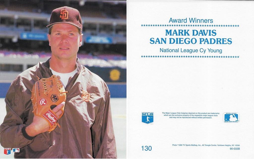 1990 TV Sports Mailbag - Davis, Mark 130