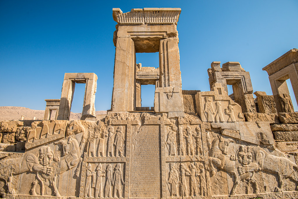 Persepolis Iran Unesco World Heritage Site Camelkw Flickr