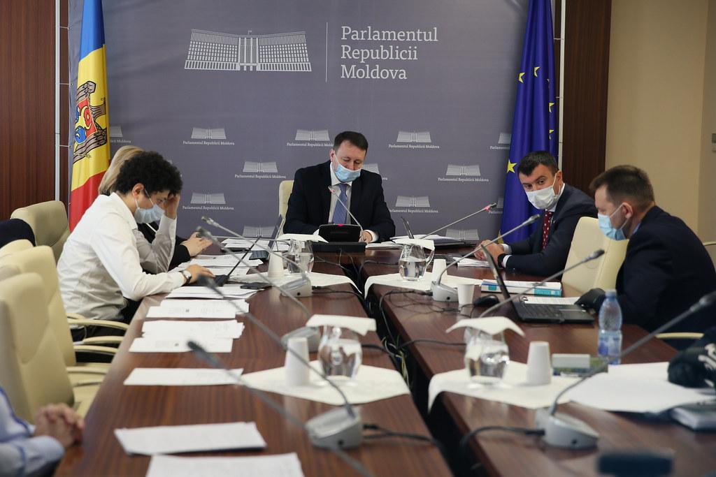 19.05.2020 Şedinţa Comisiei de control al finanțelor publice