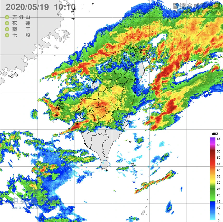 氣象局,滯留鋒,豪雨,伍婉華,中南部,雲林,麥寮,淹水,