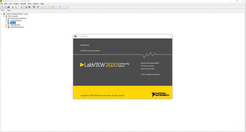 Working with NI LabVIEW 2020 v20.0.0 full license