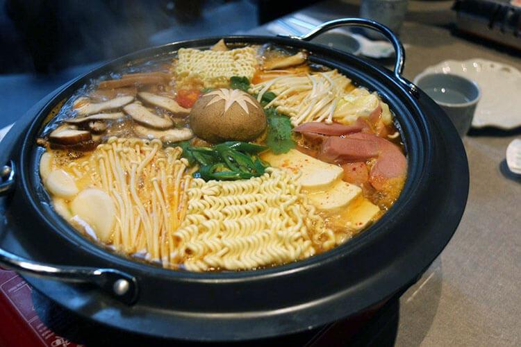 Korean Army Stew is essentially a fusion dish
