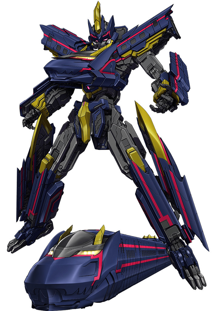 超高速行駛的漆黑新幹線 MODEROID《新幹線變形機器人》暗黑號 Black Shinkalion(ブラックシンカリオン)情報公開!