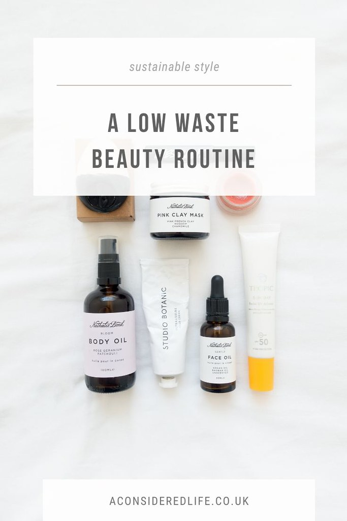 My Simple Low Waste Beauty Routine