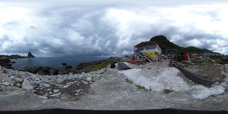 06小島觀海民宿一樓海景