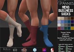 VANNIES Men Business Socks Megapack