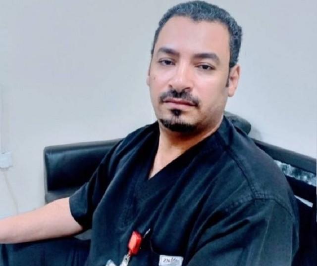 5620 Khaled Al Sharif, A Saudi nurse dies of coronavirus