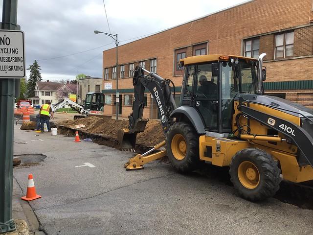 2020 - Downtown street work