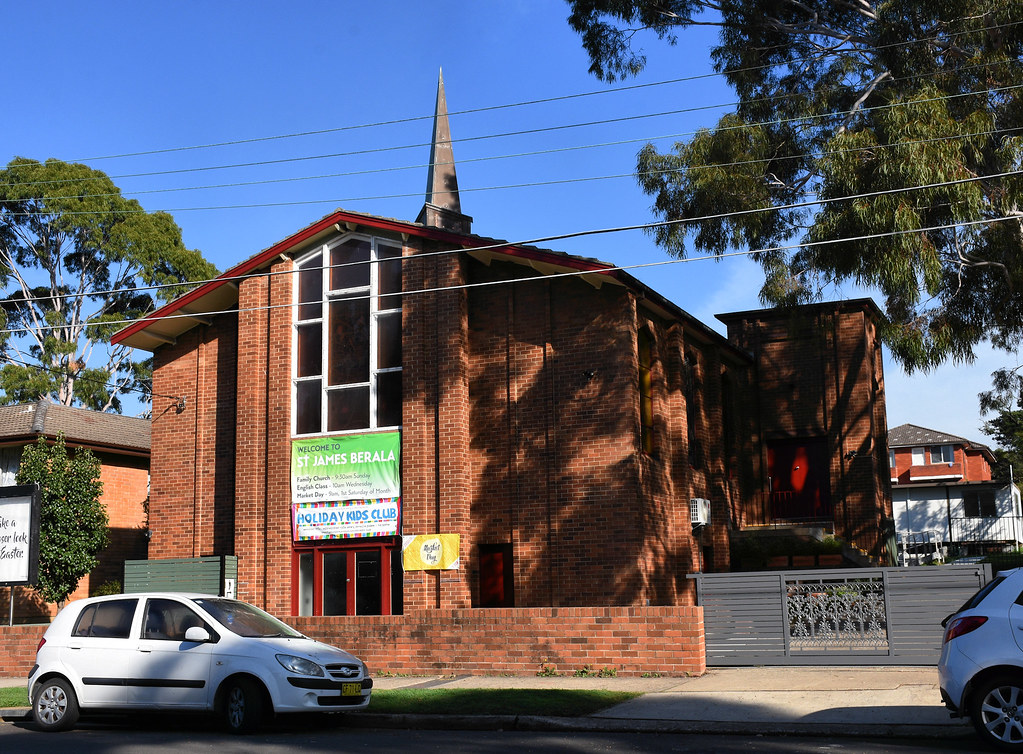 St James Anglican Church, Beralla, Sydney, NSW.