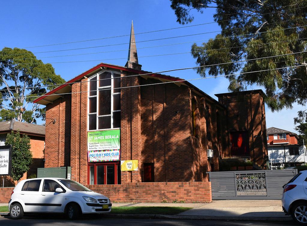 St James Anglican Church, Beralla, Sydney, NSW.