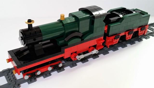 Lego GWR 3700 class 'City of Truro' (1)