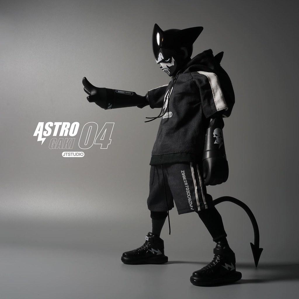 隱蔽於黑暗中的「幽靈潛襲者」! J.T Studio Street Mask 系列【Astro Gaki – 幽靈 WM.04】1/6 比例人偶