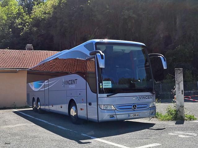 Mercedes Benz Tourismo de Vincent