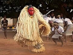 Goli Mask , Ivory Coast, by Carla Newton