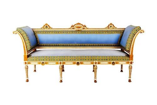 Casa Memoria  19th century sofa