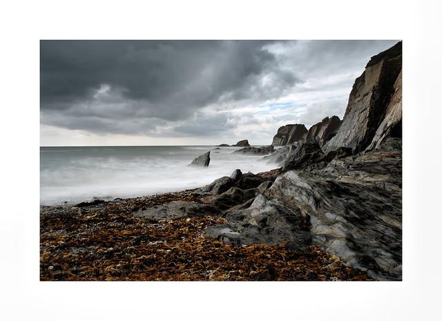 Jaws in Ayrmer Cove North Devon