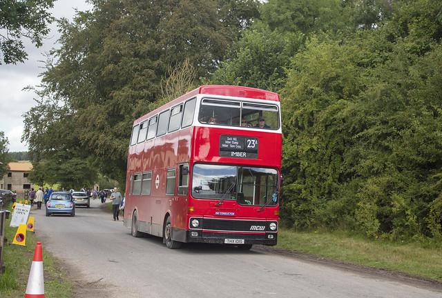 Ensignbus MCW Metrobus THX 101S M1 , Imber Village Imberbus 17.8.19
