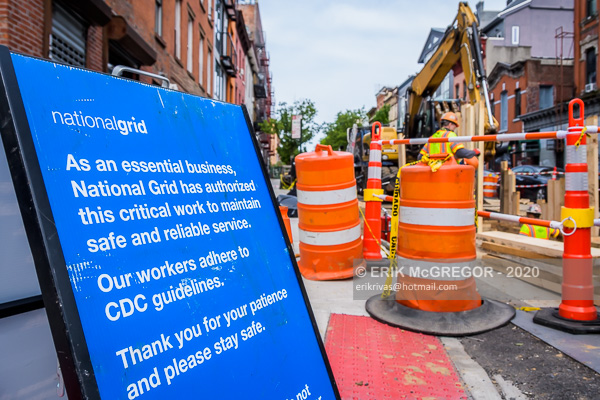 "National Grid resume North Brooklyn ""MRI"" Pipeline construction"