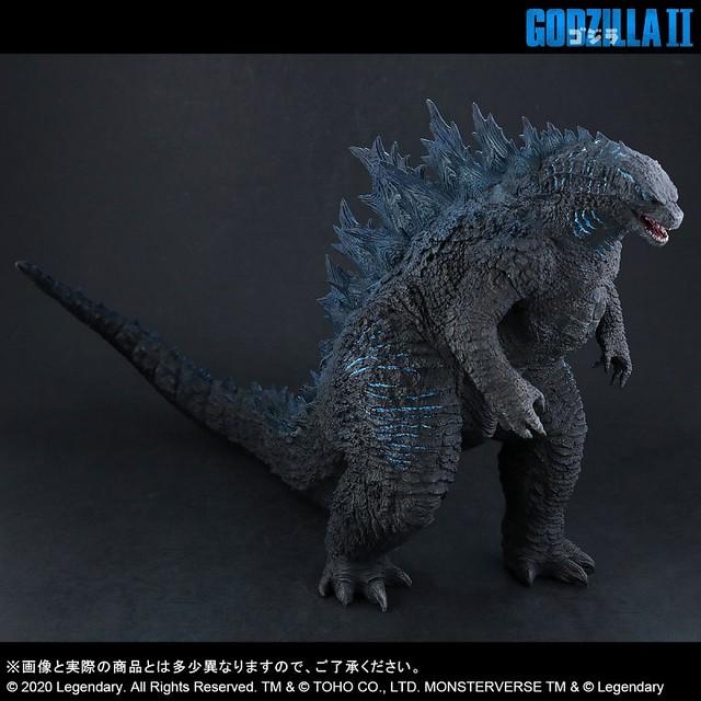 LED燈重現放射熱線藍光 X-PLUS 東寶大怪獸系列《哥吉拉2:怪獸之王》哥吉拉(2019) 東宝大怪獣シリーズ ゴジラ(2019)  少年RIC限定版