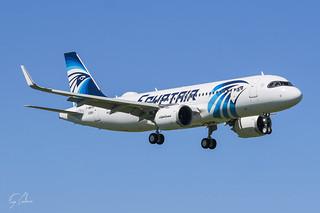 F-WWDN Airbus A320NEO EgyptAir LFLX