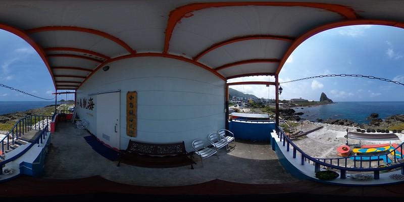 07小島觀海民宿二樓海景