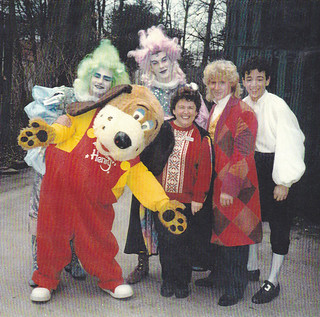 Henry with the cast of the Magic Theatre
