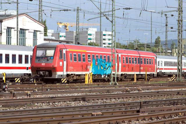 DB Regio 611 550 Basel Badischer Bahnhof
