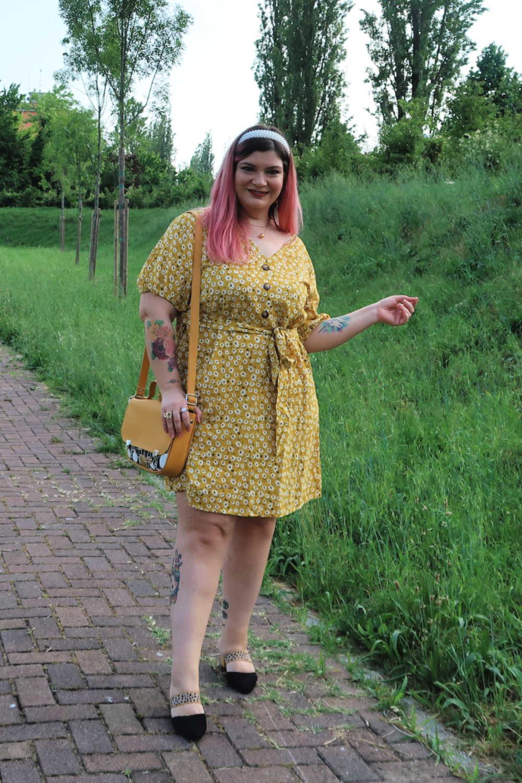 outfit curvy plus size giallo borsa carlottinalab (11)