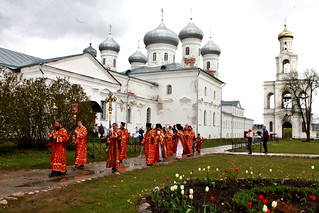 17.05.2020 | Воскресная литургия в Юрьевом монастыре