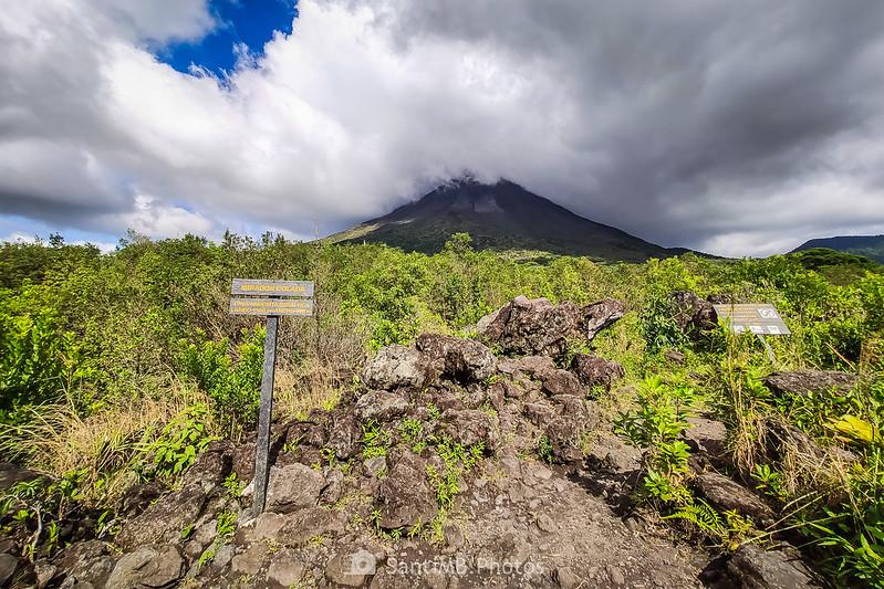 Mirador de la Colada del Volcán Arenal