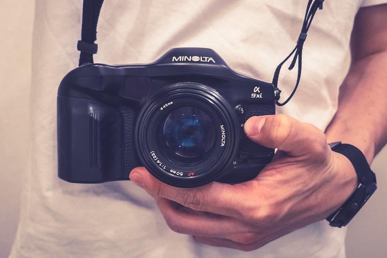 Minolta α9xi + AF 50mm F1.4