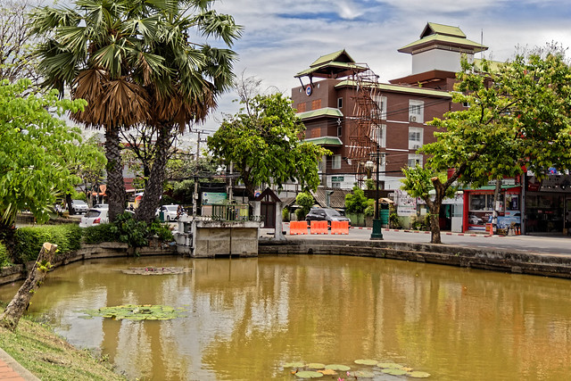 Around old town of Chiang Mai