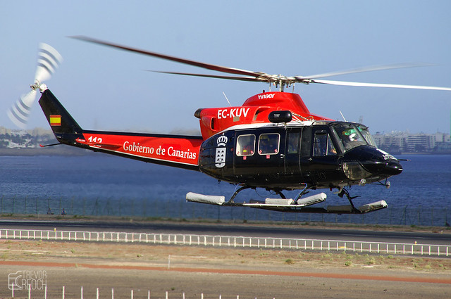 EC-KUV, Bell 412 Griffin, Lanzarote