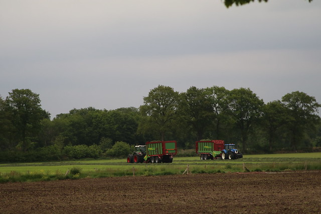 Grass silage harvested the first 2020