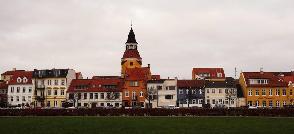 Faaborg - Chr. d. IXs Vej - Fyn - Denmark