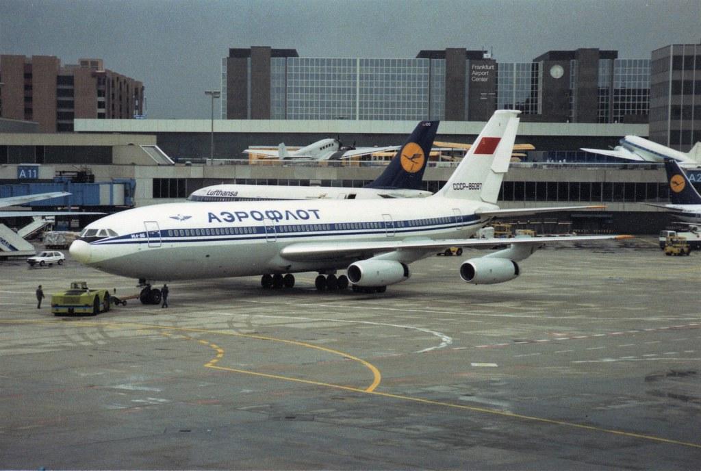CCCP-86087 Ilyushin IL-86 Aeroflot