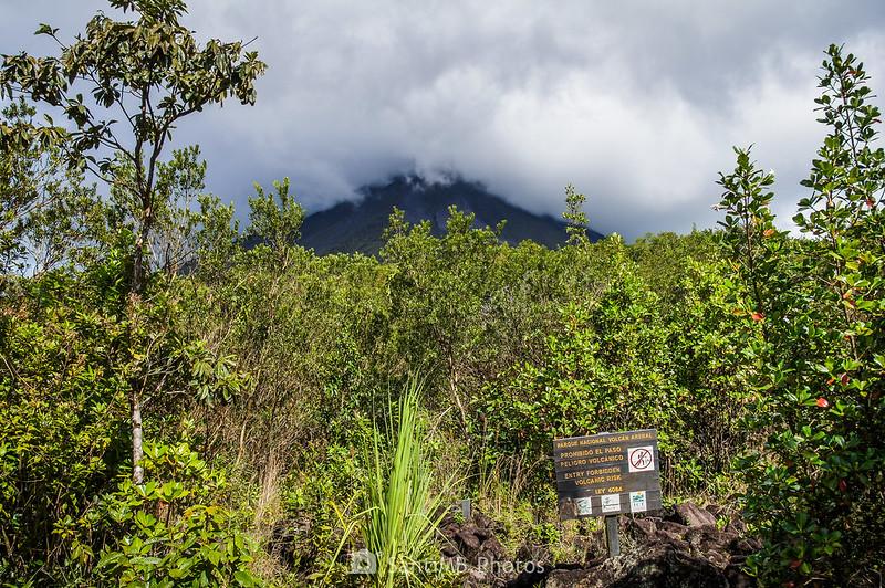 Volcán Arenal desde el Sendero de las Coladas