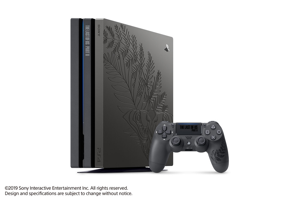 The Last of Us Part II Limited Edition PS4 Pro Bundle