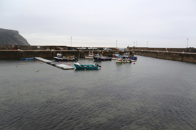 The harbour at Gardenstown