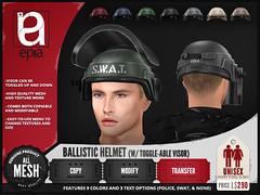 (epia) - Ballistic Helmet (VENDOR)