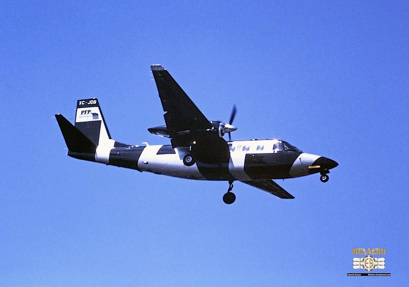 Policía Federal Preventiva / Gulfstream 690D Turbo Commander / XC-JDB