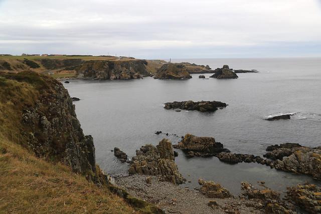 The coast east of Macduff