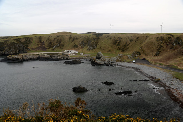 The coast at Macduff